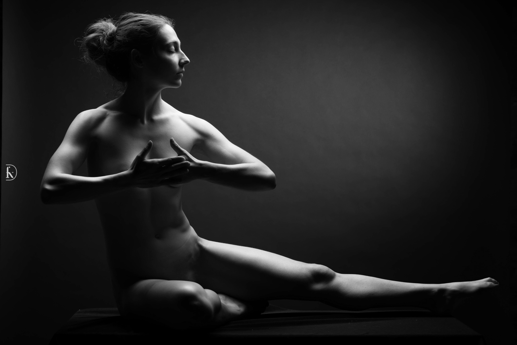 François-Xavier Driant - photographe Lyon - Photographe studio : l'émotion des corps sous la lumière